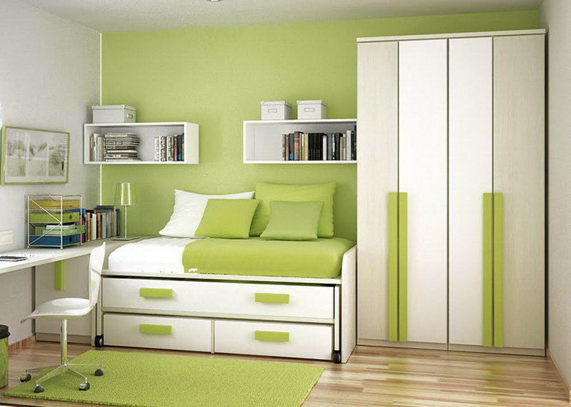 Add Creative Colours To Small Spaces