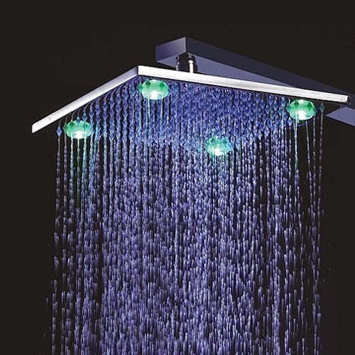 A New Experience With LED Shower Head