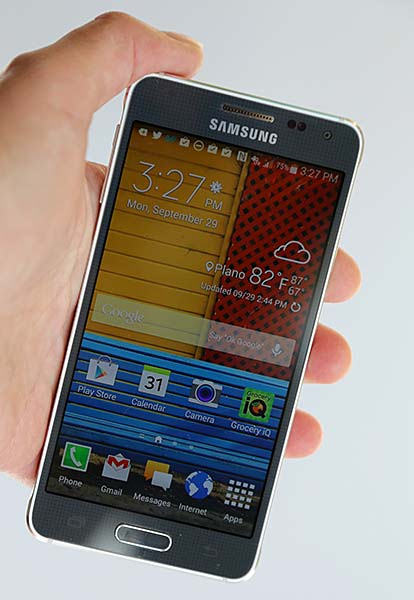 Samsung Galaxy Alpha: Design, Performance And Specs