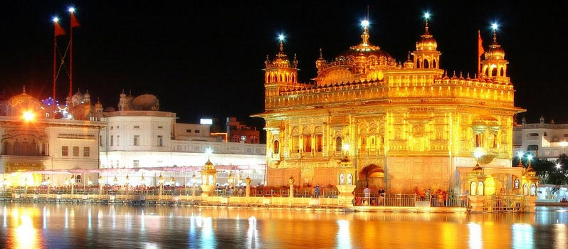 Offer Your Prayers At Harmandir Sahib In The Holy City Of Amritsar
