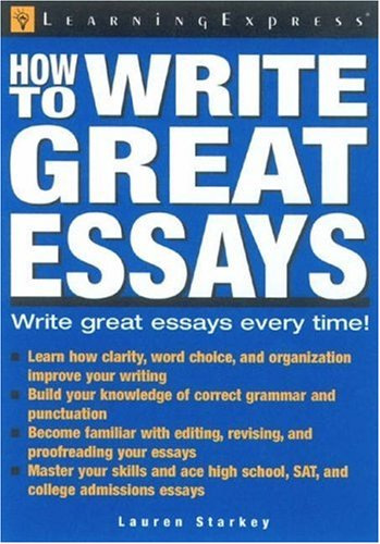 How To Structure A Great Essay