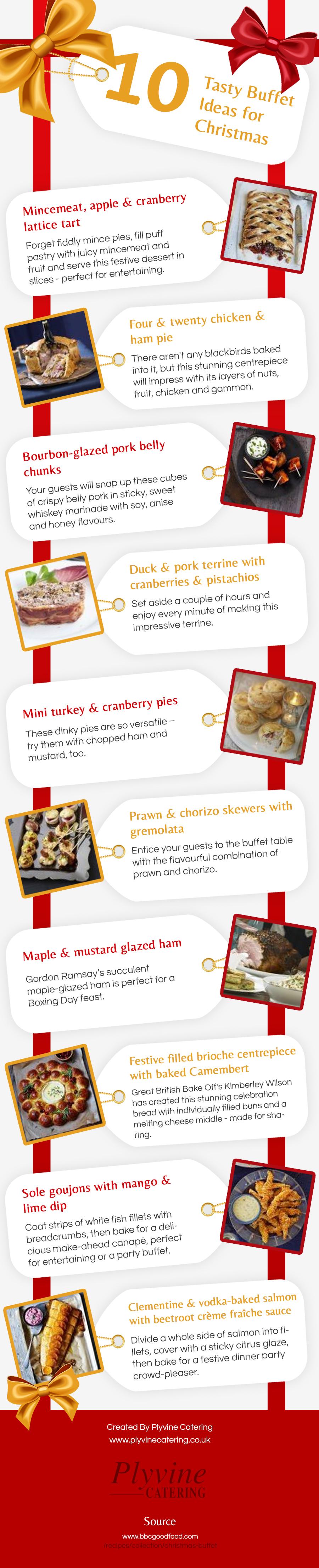 10 Tasty Buffet Ideas For Christmas