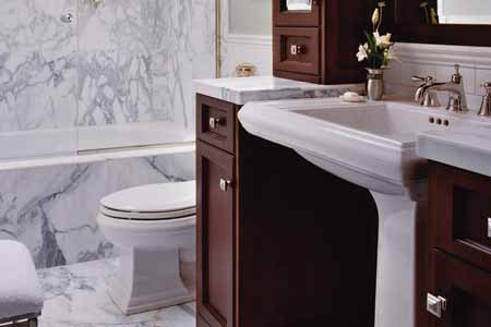 Big Ideas For Small Bathrooms