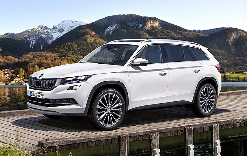 skoda kodiaq top 3 competitors of 7 seater suv. Black Bedroom Furniture Sets. Home Design Ideas