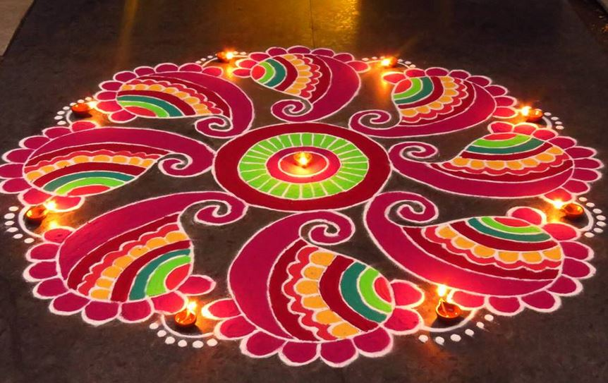 Interesting Facts About Rangoli –You Had No Idea About!