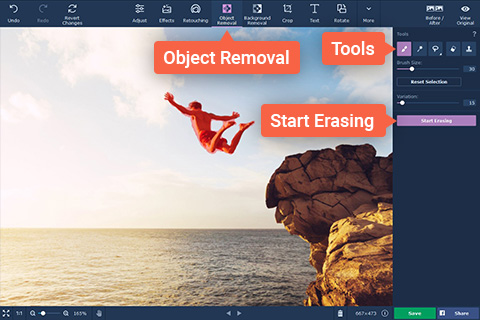 Removing People and Different Objects from Photos With Movavi Photo Editor