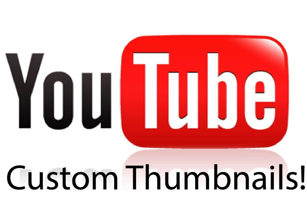 How can you make a custom thumbnail for your video?